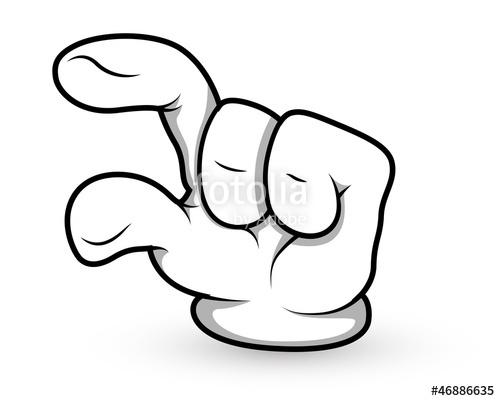 500x401 Cartoon Hand