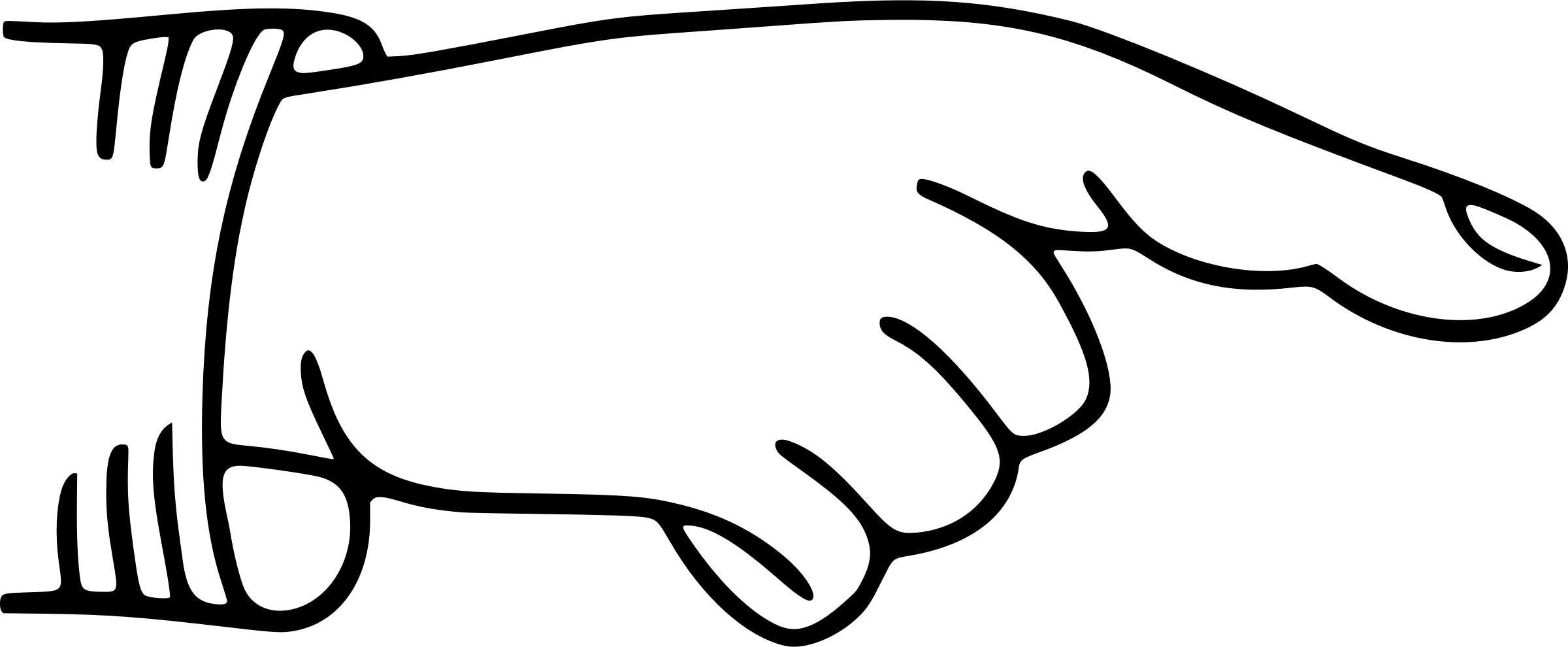 2400x990 Clipart