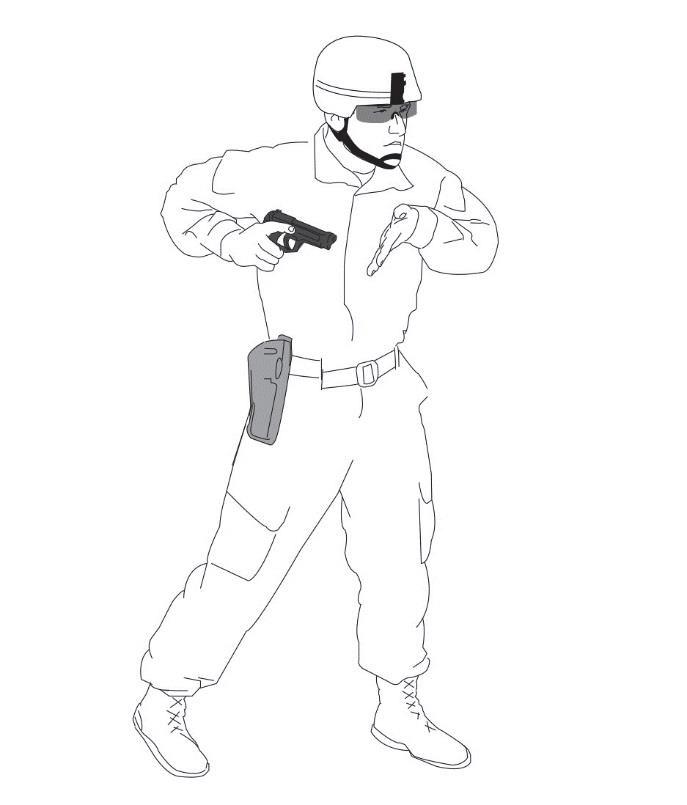 687x805 Pistol Draw And Presentation