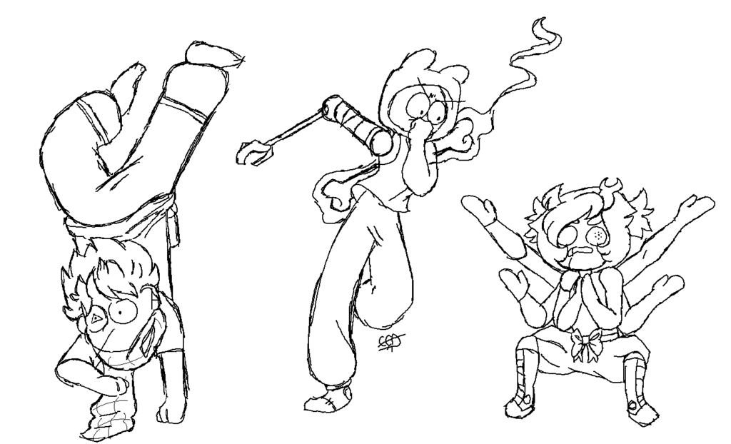 1024x622 Draw The Squad But I Made My Own Positions By Crystalclearamulet