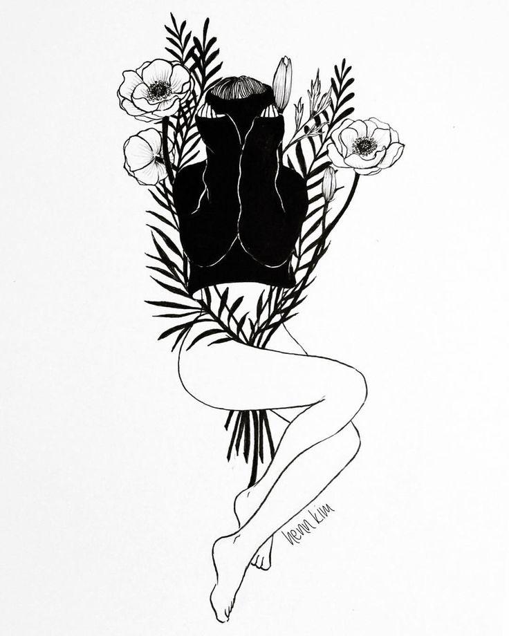 Hand Print Drawing