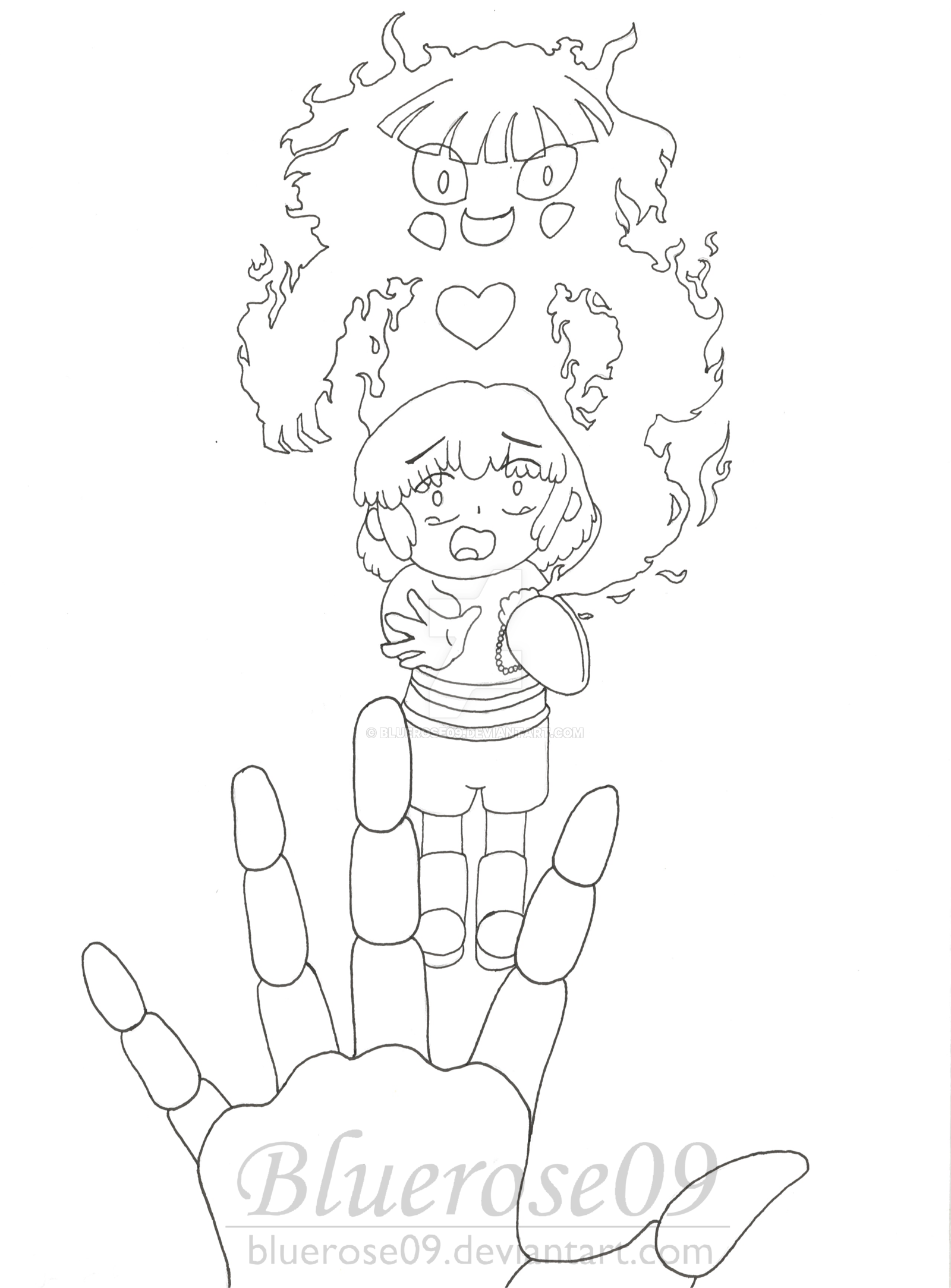 1600x2167 Frisk Reaching Out By Bluerose09