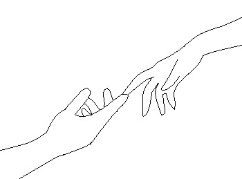 Hand Reaching Out Drawing At Getdrawings Free Download