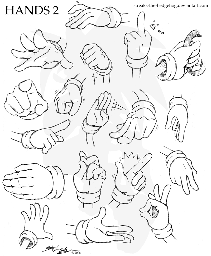 800x970 Concept Of Sonic Hands By Darkcatsoul
