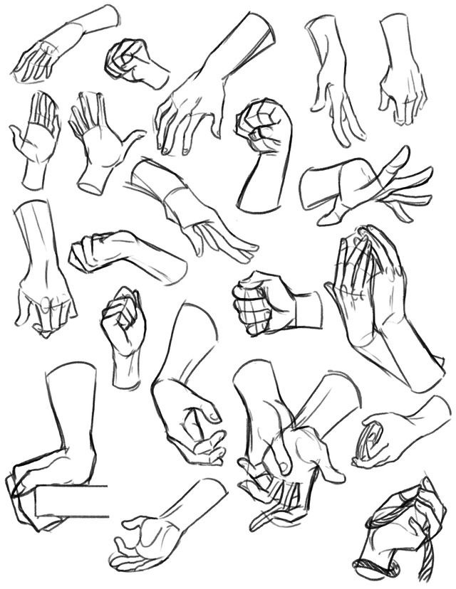 640x828 Hand Reference Figure Refs Hand Reference, Drawing