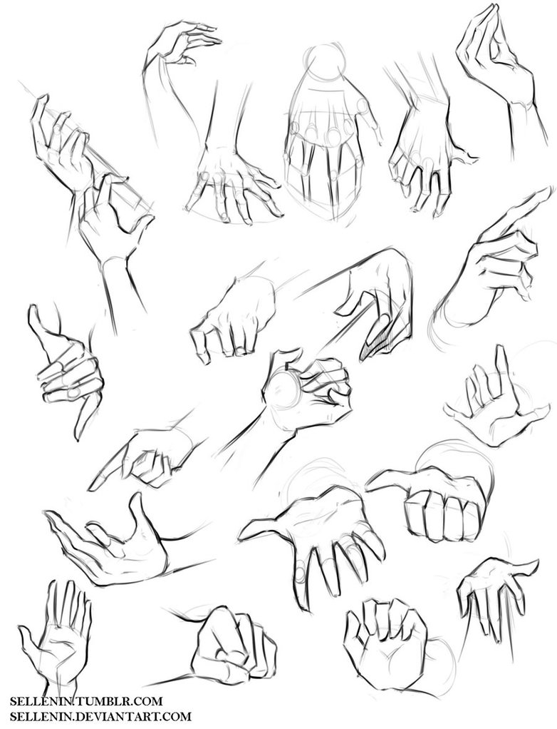 782x1022 Hands Reference By Sellenin