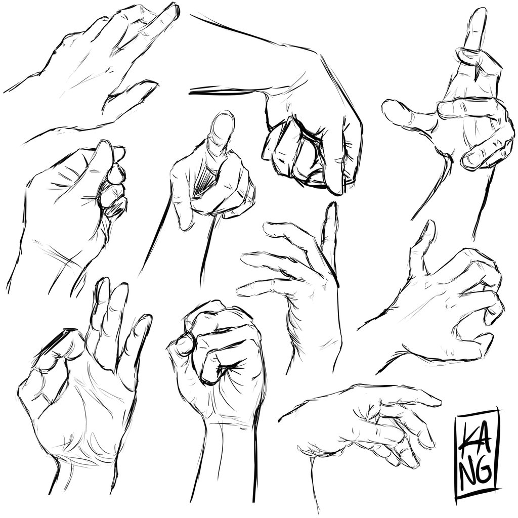 1024x1024 Hands References 2 By Thecaptainsparrow