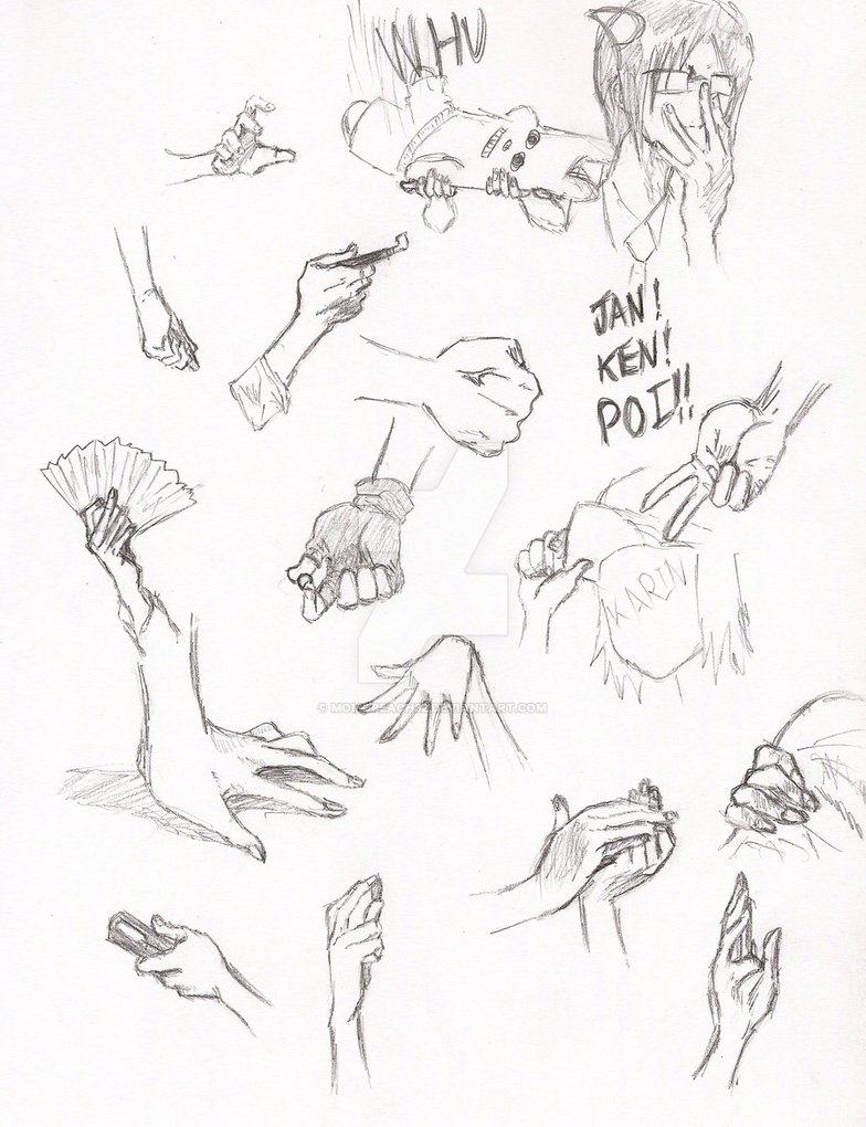 784x1020 Bleach Hand Reference Page 1 By Momopeach32