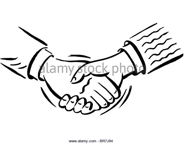 640x500 Black And White Shaking Hands Stock Photos Amp Black And White