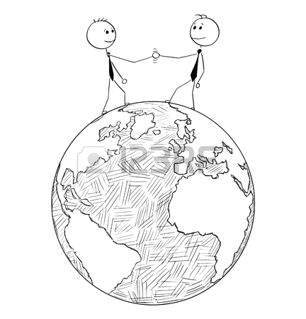 432x450 619 Shaking Hands Drawing Stock Vector Illustration And Royalty