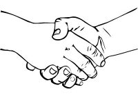 200x140 Luxury Two Hands Shaking Clipart Shaking Hands Drawing Clipart