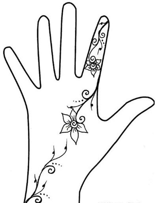 550x708 Photos Simple Hand Art Picture,
