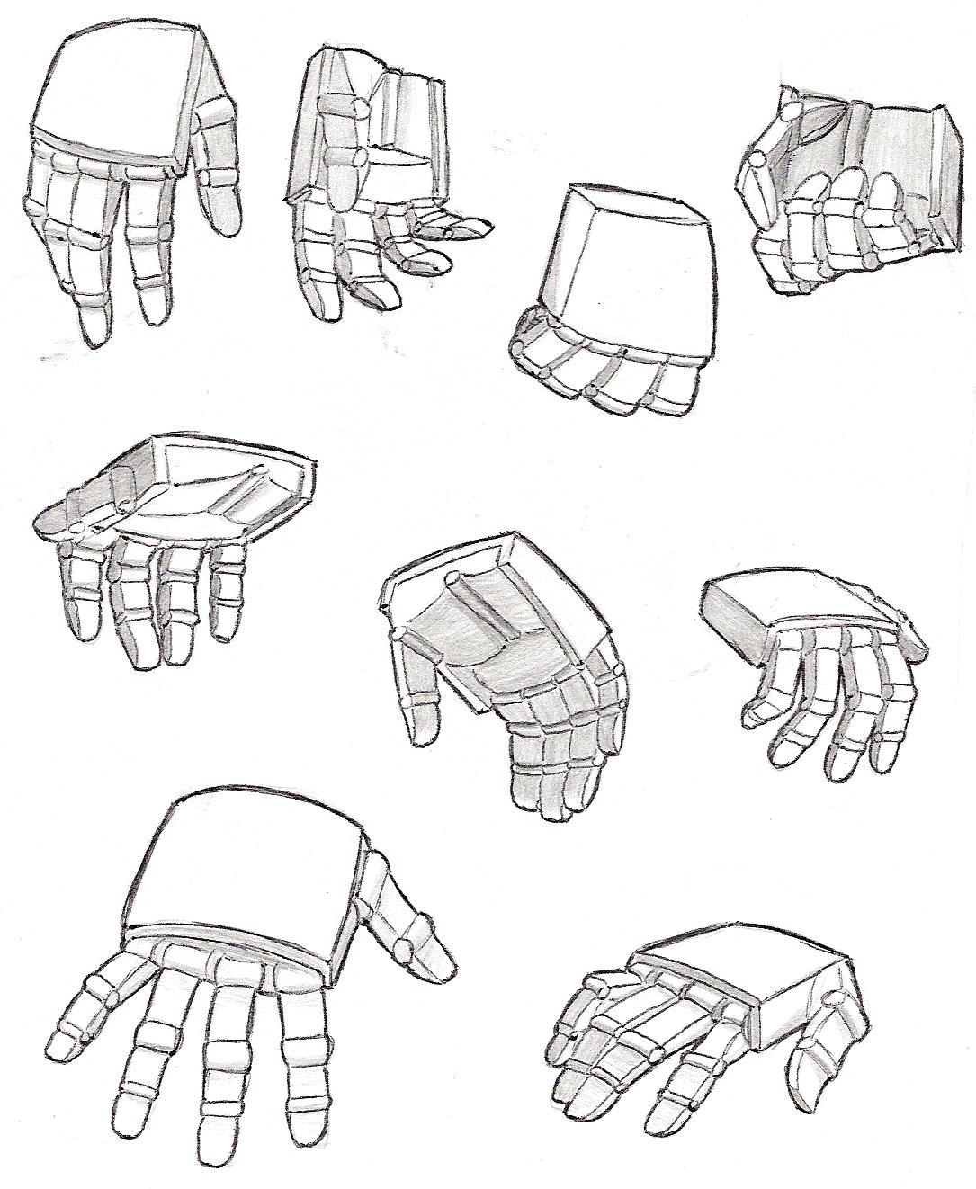 1085x1322 Transformer Hand Study By Yamis