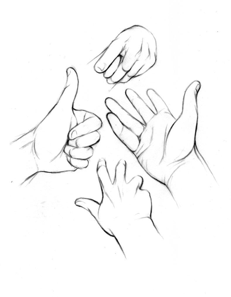 789x1012 Hand Study 2