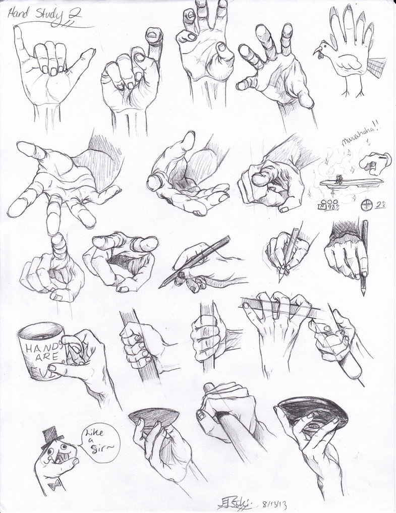 785x1017 Hand Study 2 By Tsuki Nii On Arms And Hands