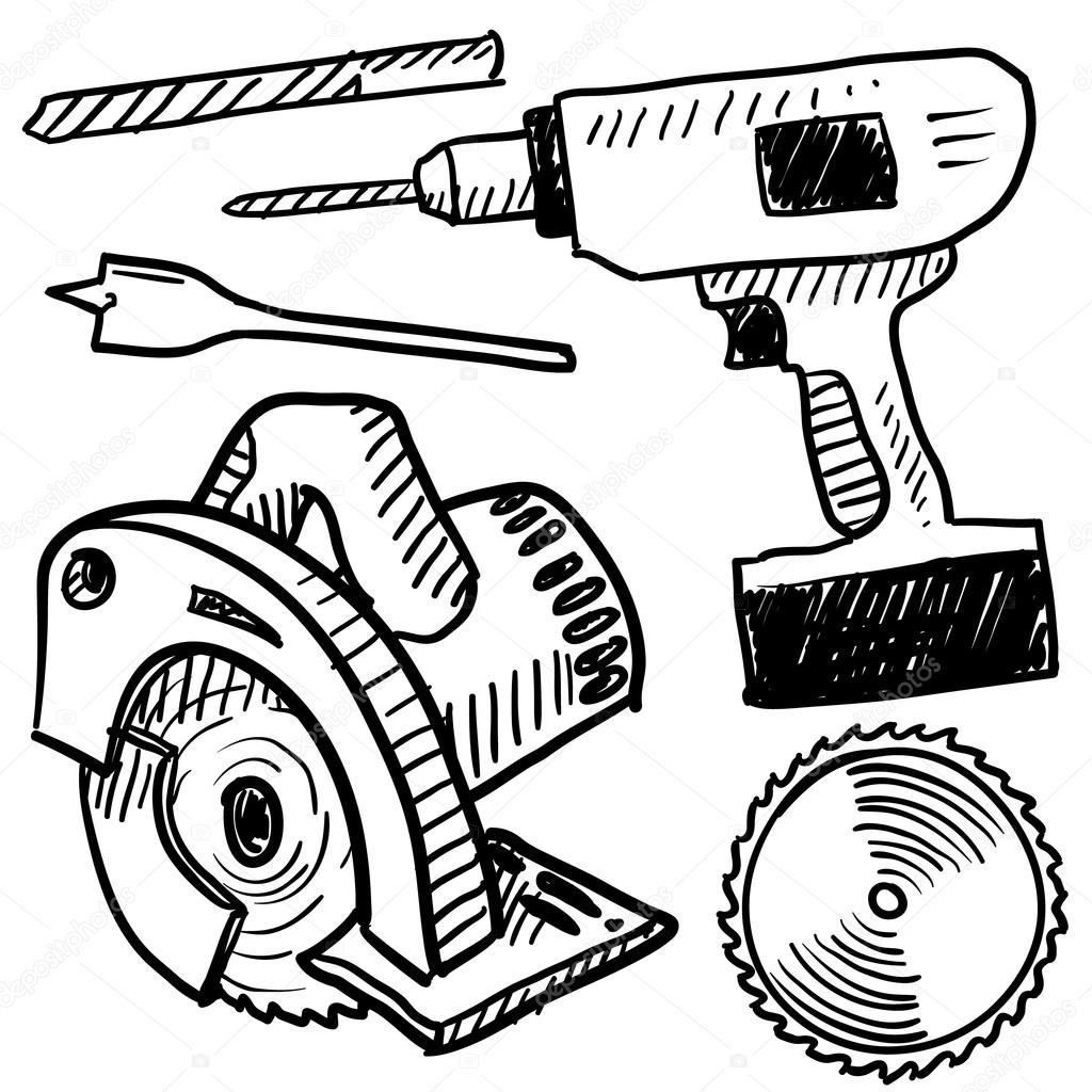 1024x1024 Woodworking Tools Drawings With Unique Inspiration