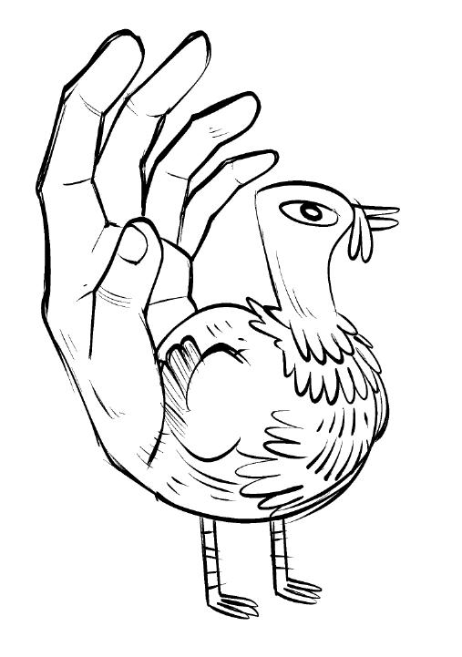 507x721 Nedroid Fun Times Hand Turkey