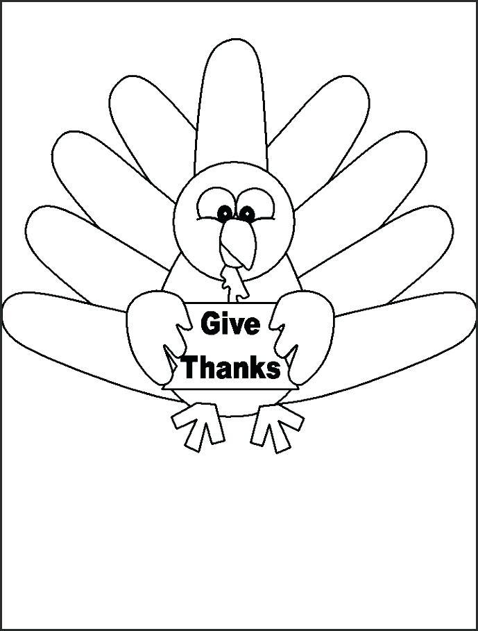 689x909 Free Turkey Template Thanksgiving Free Thankful Turkey Template