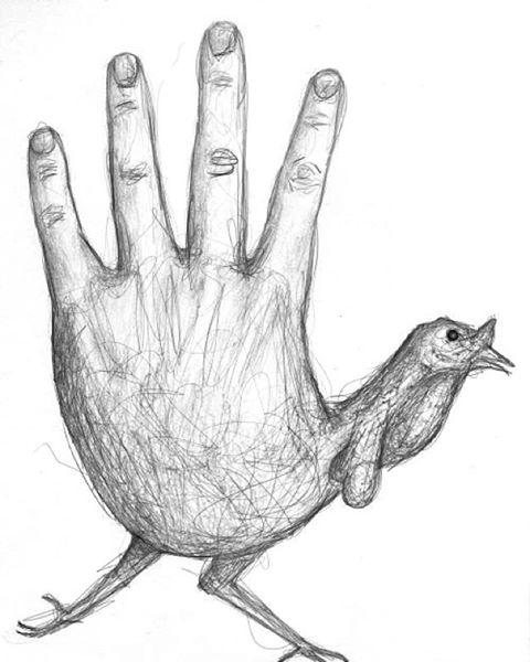 480x600 Hand Turkey