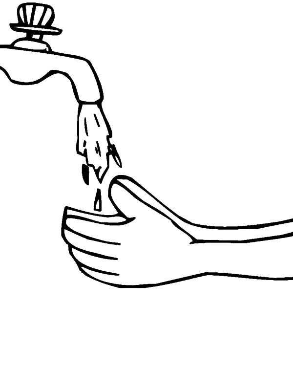 600x800 Hand Washing Coloring Pages Hand Washing Coloring Pages