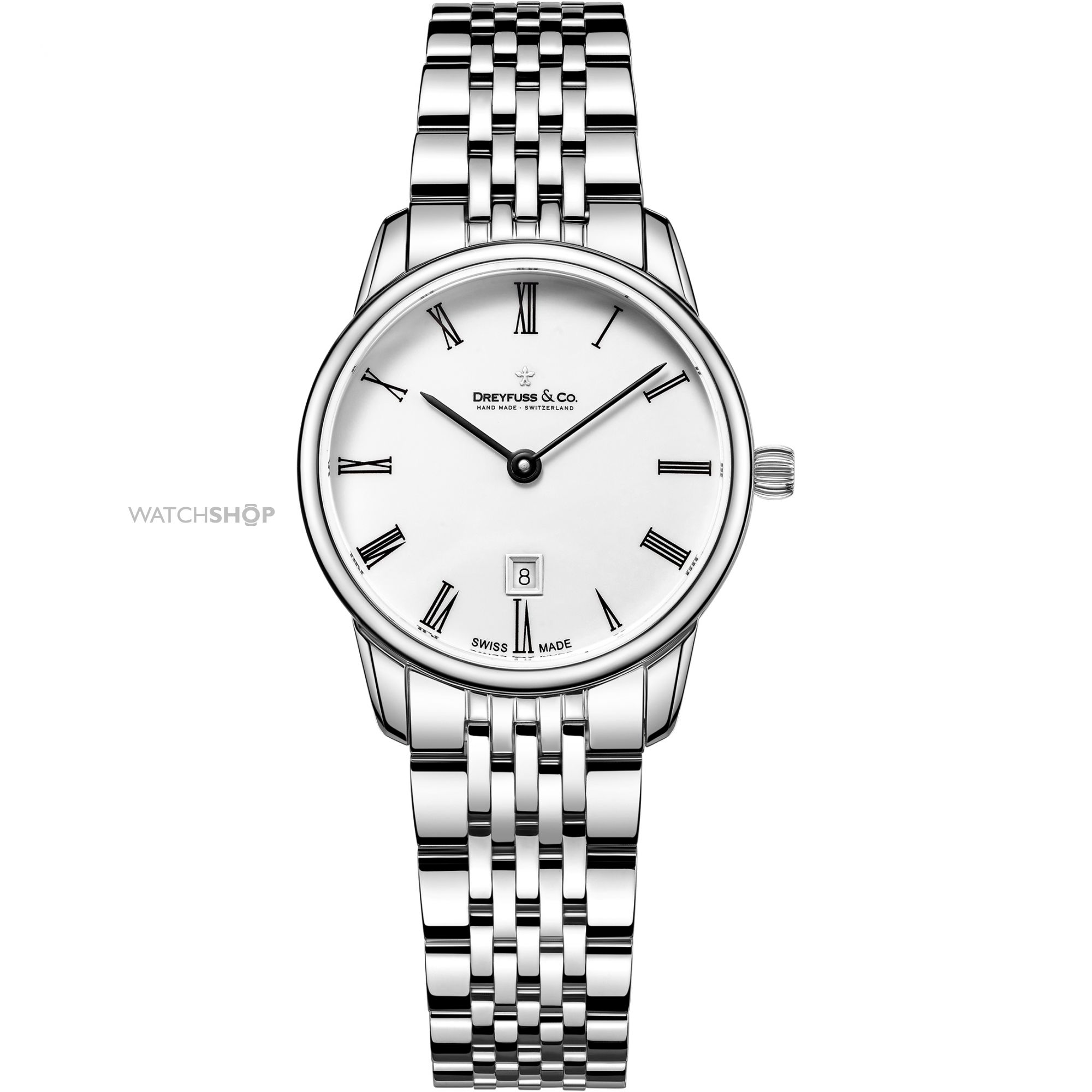 2000x2000 Ladies' Dreyfuss Amp Co 1980 Watch (Dlb0014601)