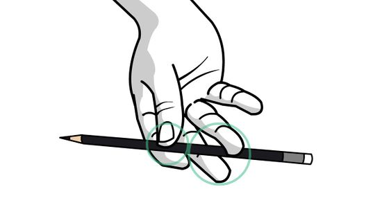 550x309 How To Spin A Pencil Around Your Middle Finger 10 Steps