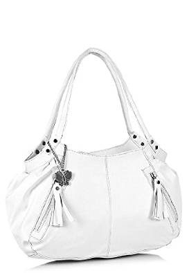 273x395 Butterflies Handbag (White)(Bns 0263) Amazon.in Shoes Amp Handbags
