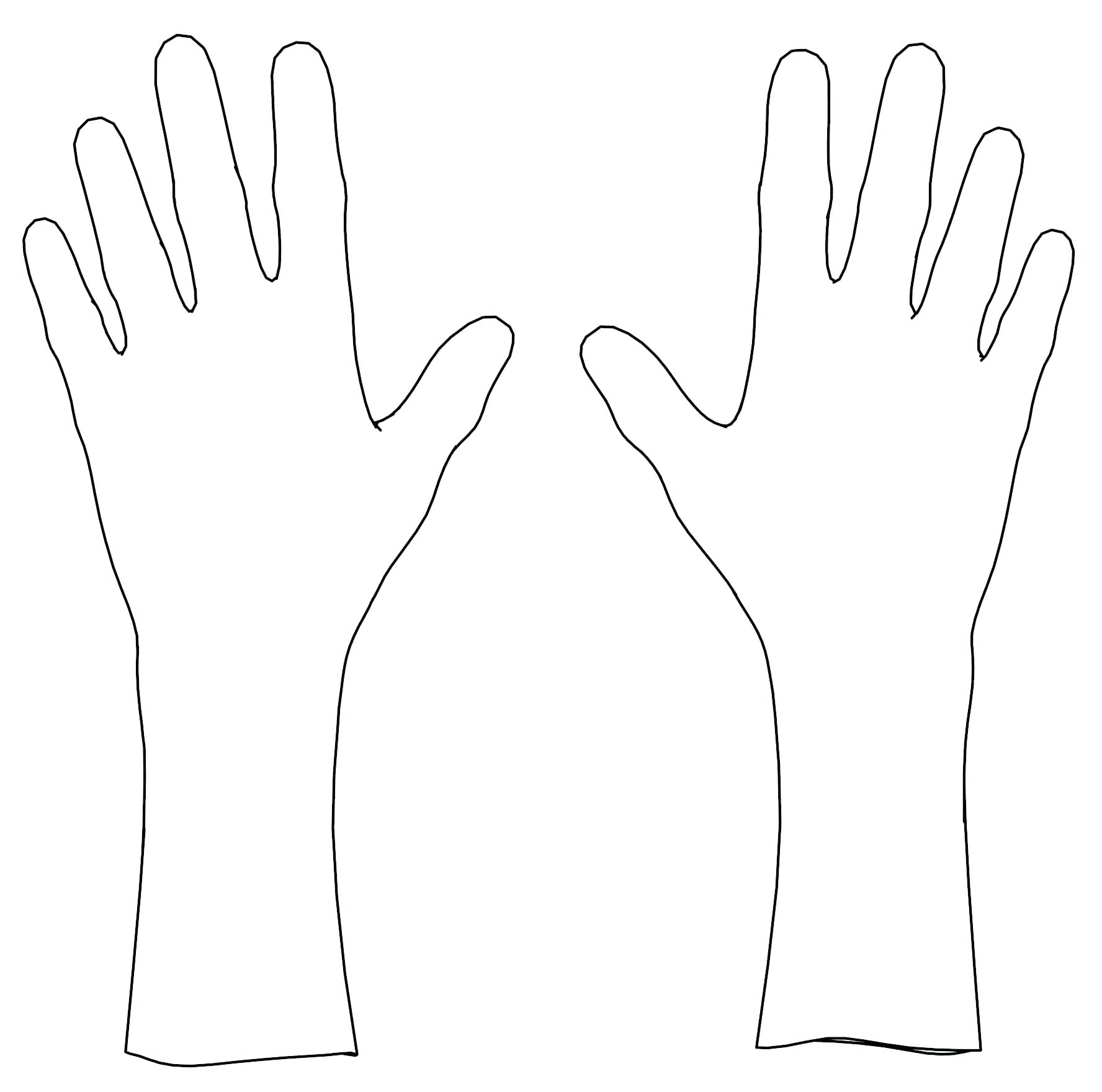 1776x1760 Coloring Coloring Page Of A Hand Handcuffs. Coloring Page Of A Hand