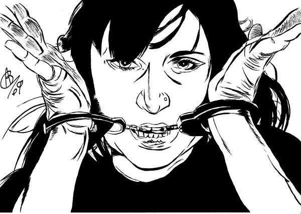 600x426 Eva Maria Hess Handcuffed 01 By Alexbaxthedarkside