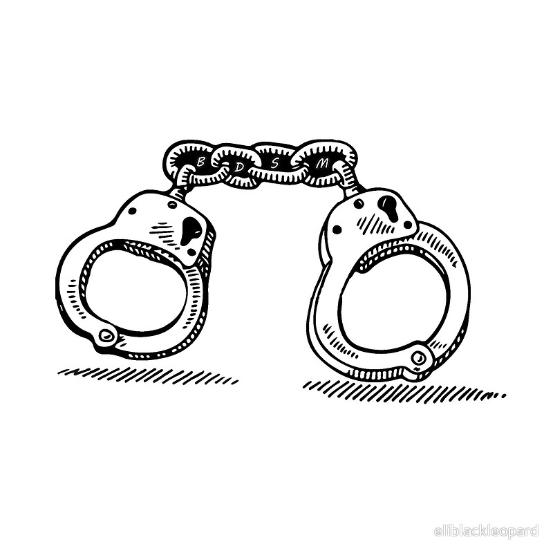 800x800 Handcuffs Bdsm Tote Bags By Eliblackleopard Redbubble