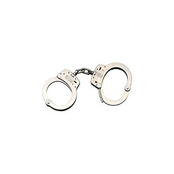 342x342 Smith Amp Wesson M100 1 Chain Handcuffs, Nickel Plated
