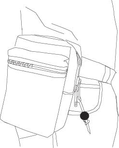 247x306 Concealed Handgun Holster Fanny Packs. Fannypack Holsters