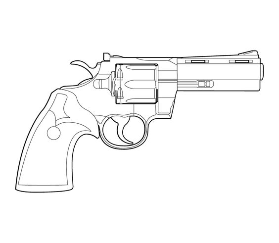 564x491 Hk Msg90 Lineart By Masterchieffox A Guns