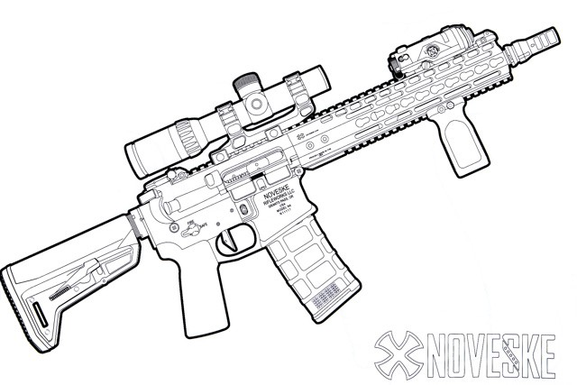 640x427 Kitfox Firearms Coloring Book
