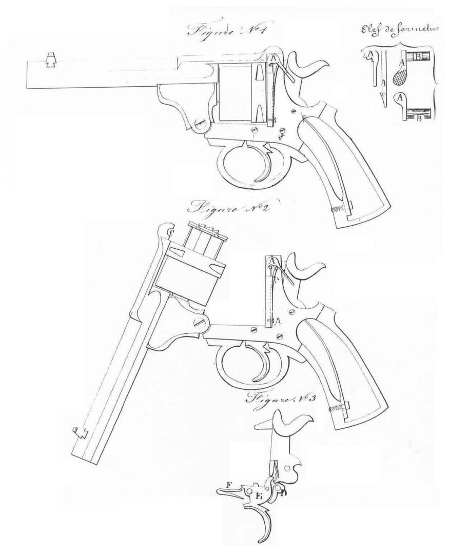 875x1086 Warnant Top Break Double Action Revolver