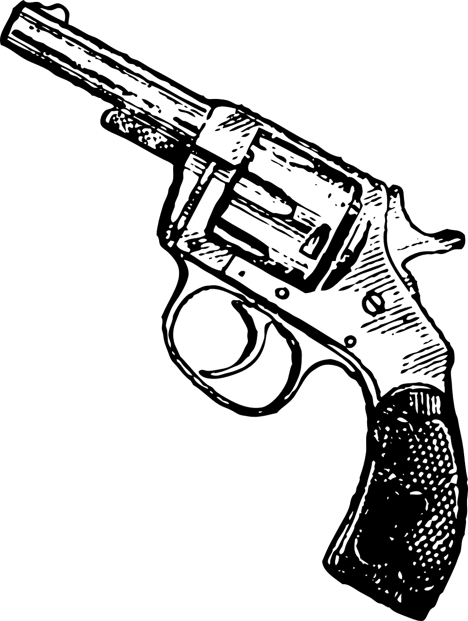 965x1280 Tattoos Of Antique Pistols Smith And Wesson Drawing Drawing