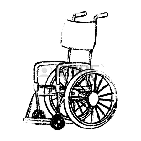 450x450 905 Drawing Of Wheelchair Stock Illustrations, Cliparts