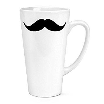 355x355 Handlebar Moustache 17oz Large Latte Mug Cup Amazon.co.uk