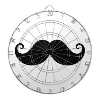 324x324 Moustache Dart Boards Zazzle