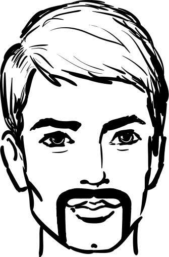 335x509 What Is The Horseshoe Moustache How To Grow A Moustache
