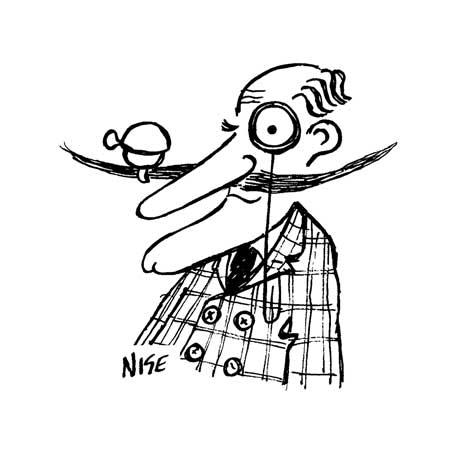 450x450 Handlebar Moustache Cartoon