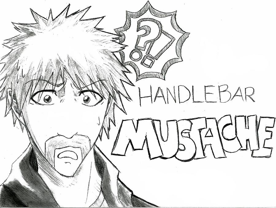 900x681 Handlebar Mustache By Bleachcakecosplay