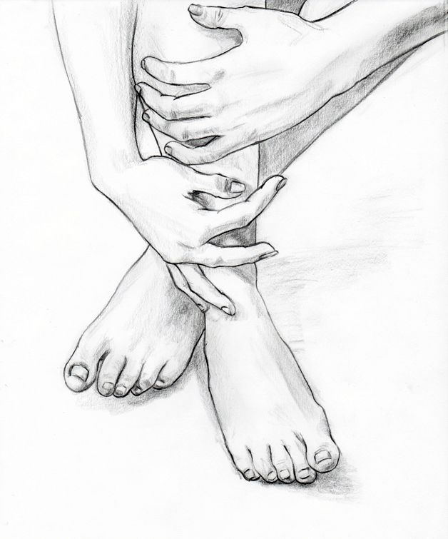 Hands And Feet Drawing