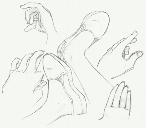 600x525 Hands And Feet Sketches By Crossacademy22