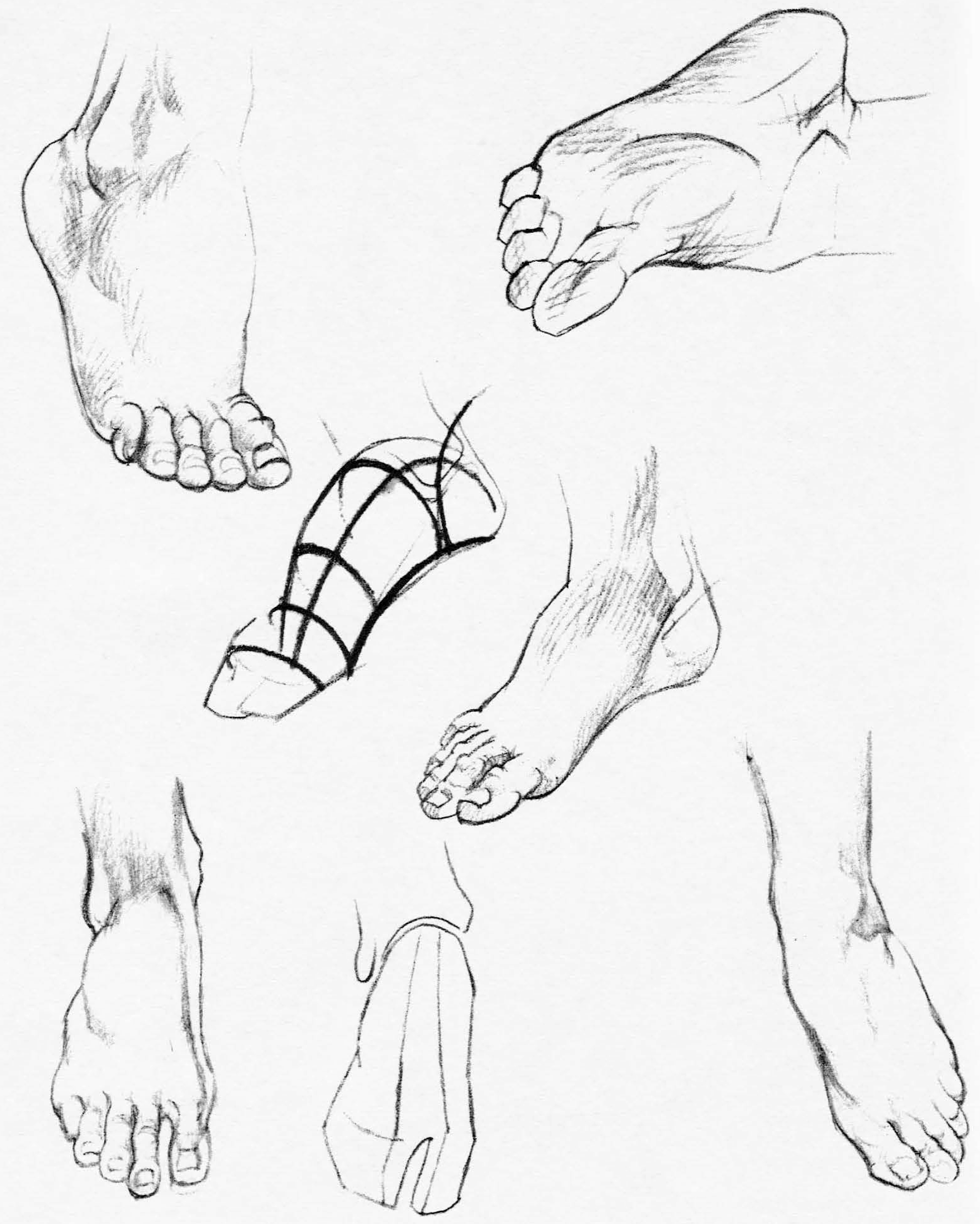 Hands And Feet Drawing at GetDrawings.com | Free for personal use ...