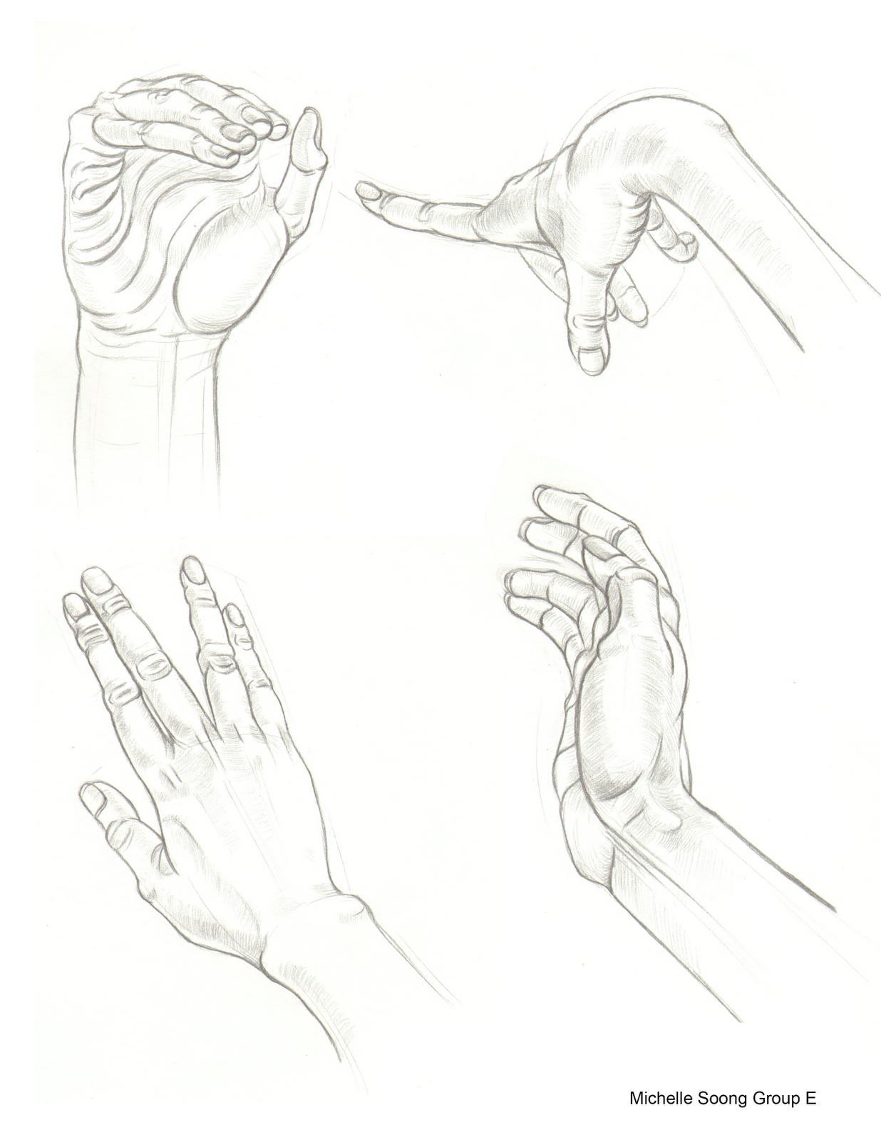 1236x1600 Michelle Soong Art Hand And Feet Drawings