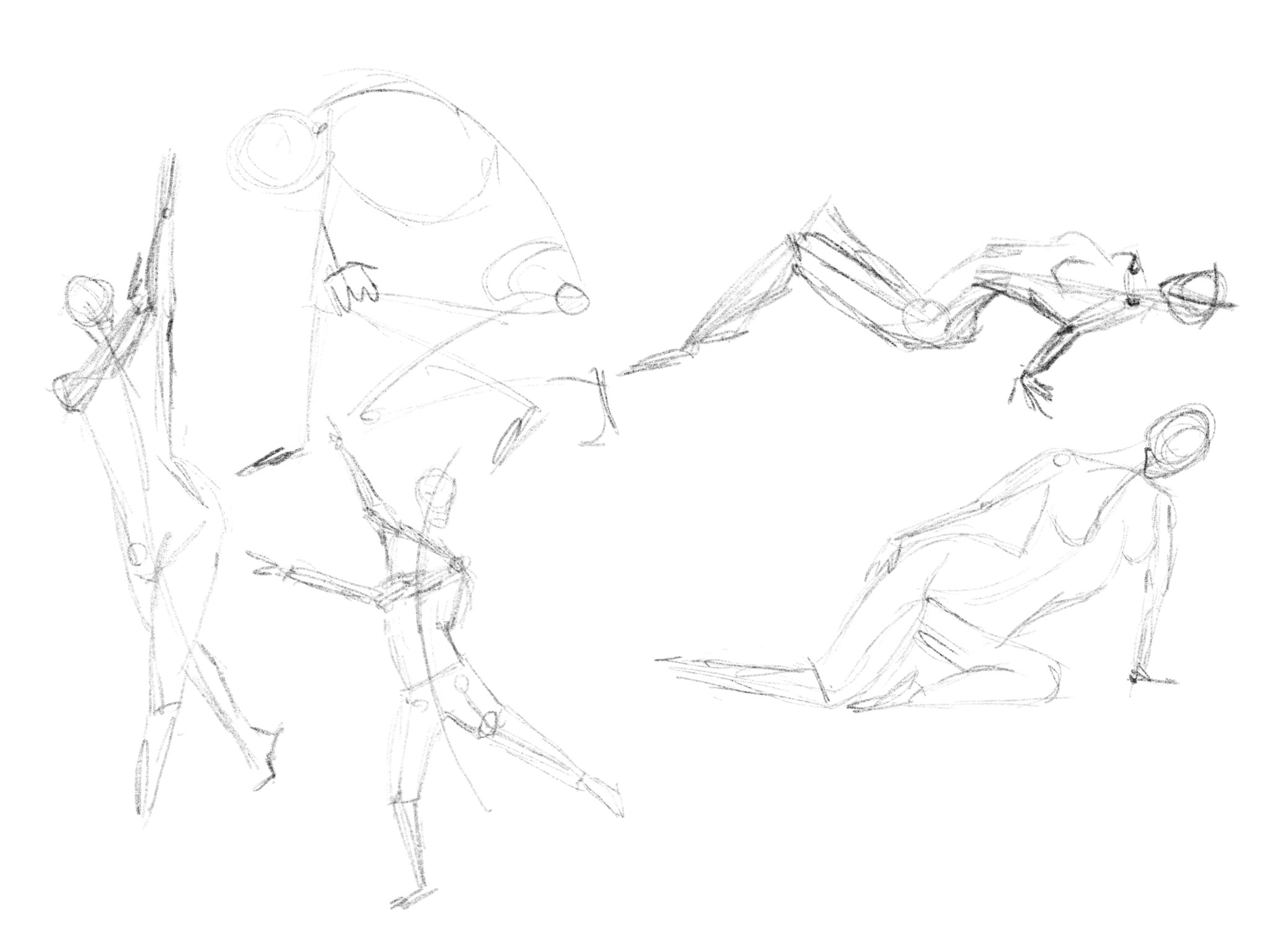 2049x1536 Hands, Feet And Figure Sketching. Looking For Critique