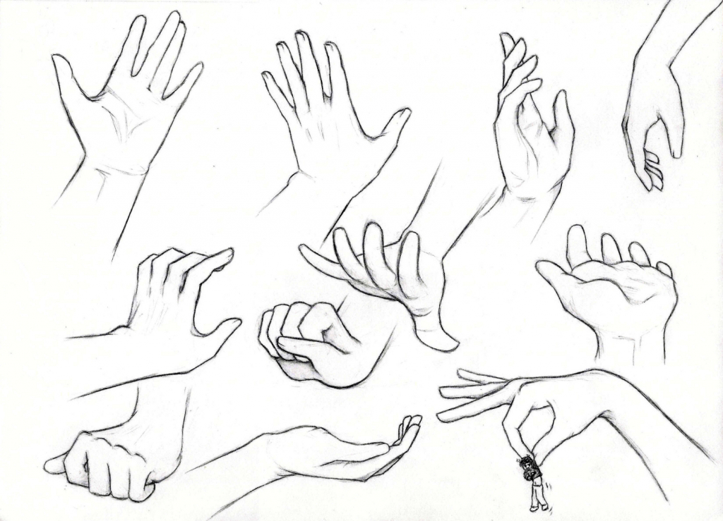 1024x739 Draw Anime Hands Drawing Anime Hands