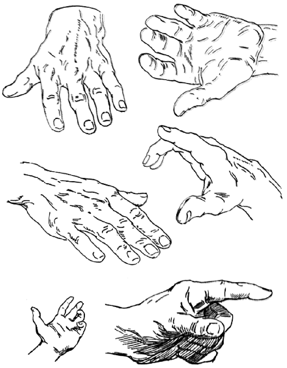 1000x1280 Drawing Hands Techniques For How To Draw Hands With References