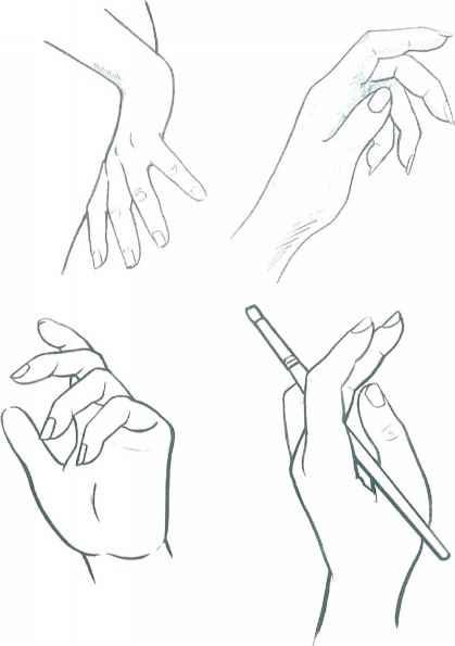 419x595 Fashion Illustration Hands